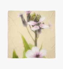 Vintage Flower Photograph on Aged Paper Scarf