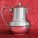 Vintage Silver Coffee Pot by YellowGecko