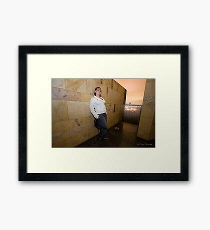 Miss Atitude Framed Print