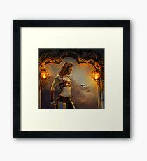 Warrior Framed Print