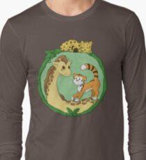 Cute Jungle Friends Long Sleeve T-Shirt