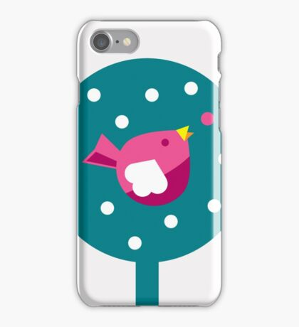 Bird in a Bush iPhone Case/Skin