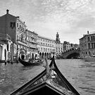 Taking a gondola through Venice, vintage-style by revealedrome