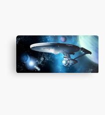 Enterprise A - Where Silence Has Lease Metal Print