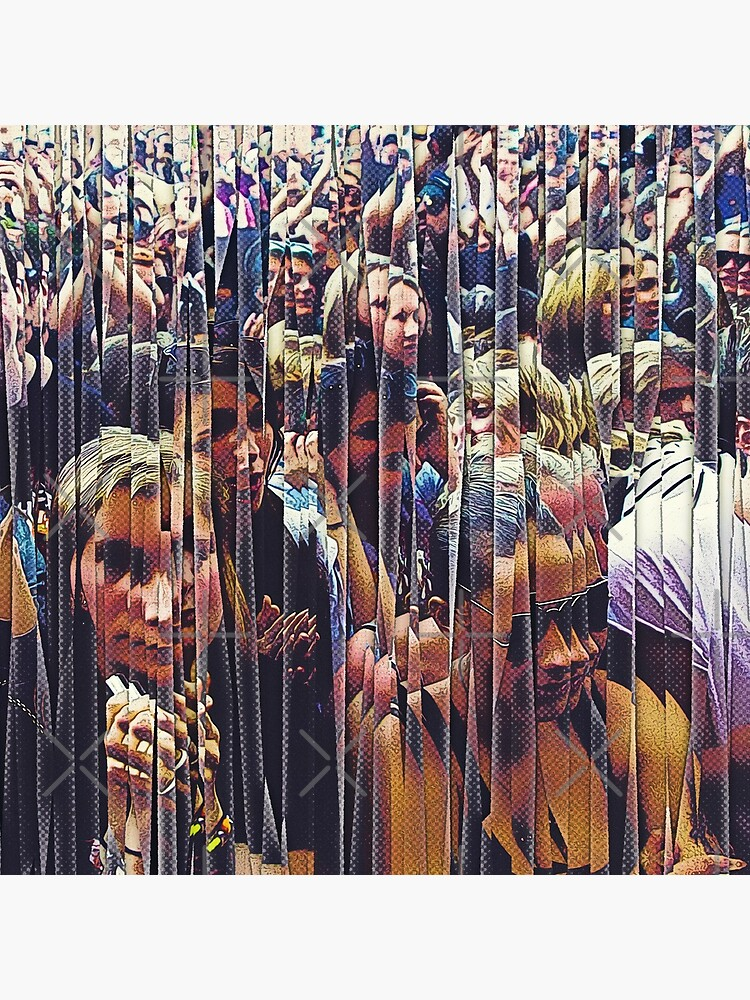 Concert Crowd Fans by perkinsdesigns