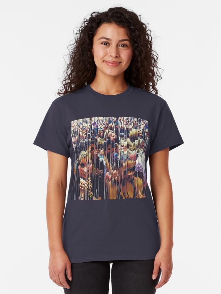 Alternate view of Concert Crowd Fans Classic T-Shirt