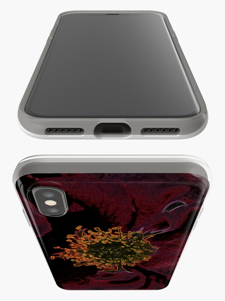 Alternative Ansicht von Bush Rosen Neon iPhone-Hüllen & Cover