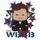 Team Webb Politico'bot Toy Robot by Carbon-Fibre Media