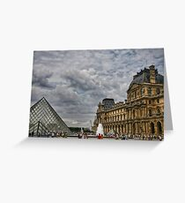 LOUVRE MUSEE Greeting Card