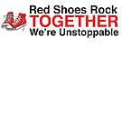 Red Shoes Rock Together Unstoppable by oursacredbreath