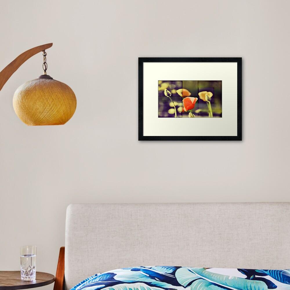 California Poppy(2) Framed Art Print