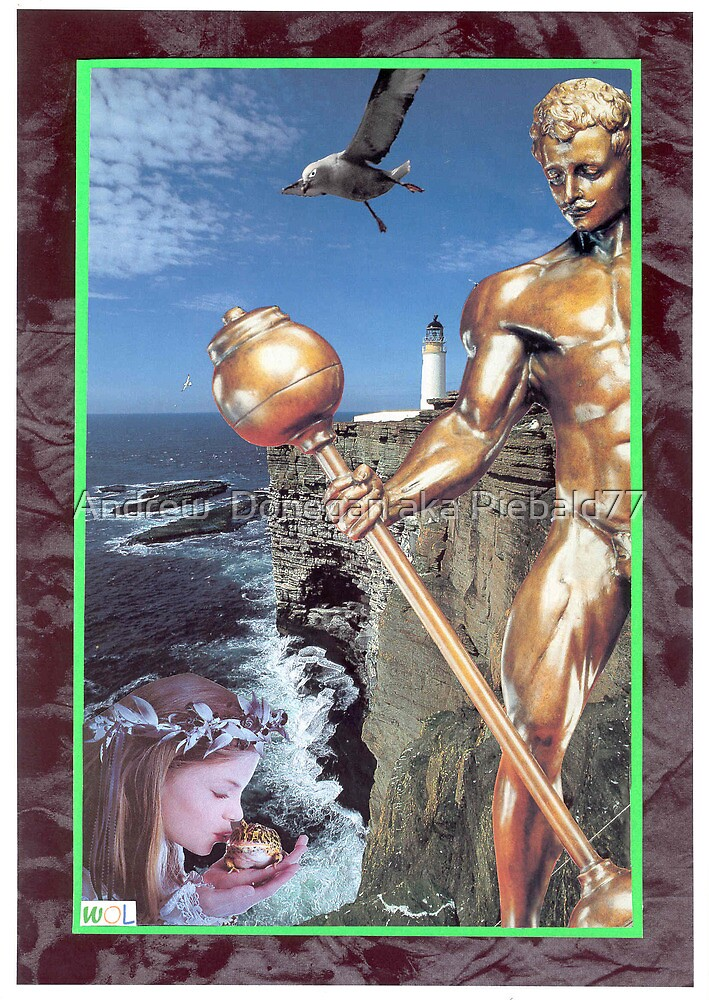 Bronze Watchman by Andrew  Donegan aka Piebald77