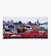 Lunenburg Waterfront Photographic Print