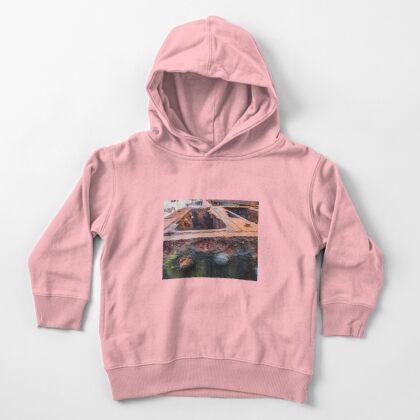 Rust  Toddler Pullover Hoodie
