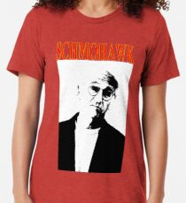 Curb your Schmohawk Tri-blend T-Shirt