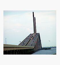 Sunshine Skyway Bridge Photographic Print