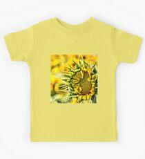 Baby Sunflower  Kids Tee