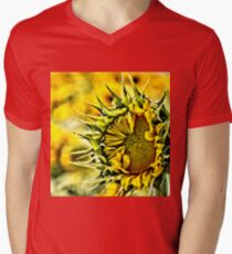 Baby Sunflower  Mens V-Neck T-Shirt