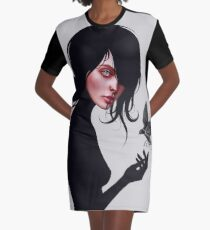 """You can call me """"V"""" Graphic T-Shirt Dress"""