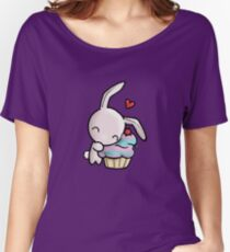 Cupcake Bunny Women's Relaxed Fit T-Shirt