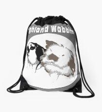 Highland Wabbits version 2 Drawstring Bag