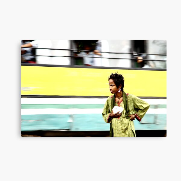 Walk alone Canvas Print