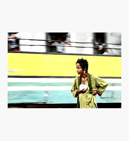 Walk alone Photographic Print