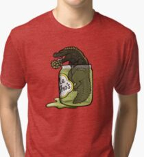 The Terrifying PickleJho Tri-blend T-Shirt