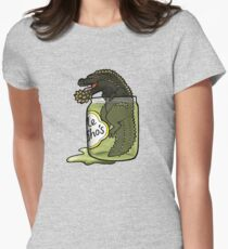 The Terrifying PickleJho Women's Fitted T-Shirt