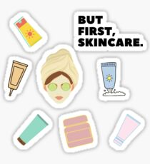 But First, Skincare Bundle Pack Sticker