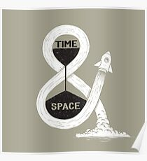 Time & Space Poster