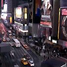 Time Square by night by Billyd21c