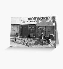 Ironwork Greeting Card