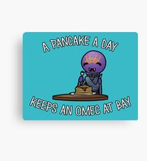 A Pancake A Day... Canvas Print