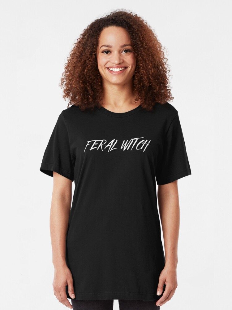 Alternate view of Feral Witch Slim Fit T-Shirt