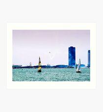 Air and Water Art Print