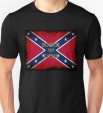 Heritage, Not Hatred - Confederate Flag Unisex T-Shirt