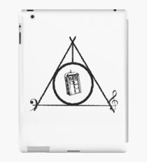 Deathly Hallows, TARDIS, music iPad Case/Skin