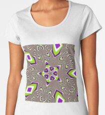 Op art - art movement, short for optical art, is a style of visual art that uses optical illusions Premium Scoop T-Shirt