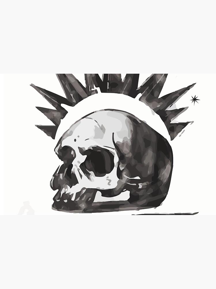 Chloe's Shirt - Misfit Skull by scolecite