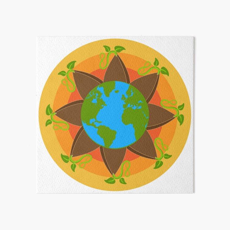 Seed The World Art Board Print