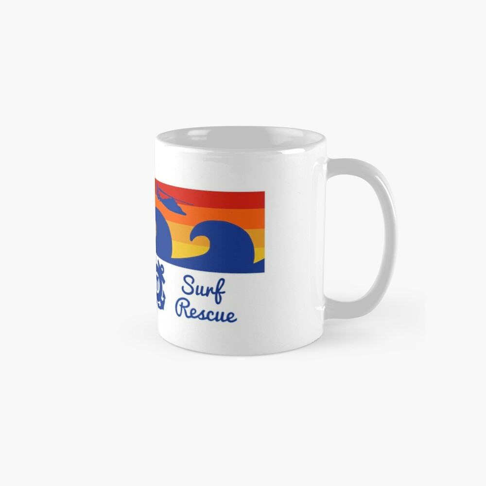 Sunset Surf Rescue Mug