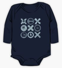 HIP TAC TOE Long Sleeve Baby One-Piece