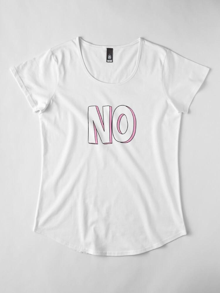Alternate view of No Premium Scoop T-Shirt