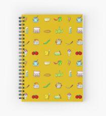 Kitchy Kitchen Pals! Spiral Notebook