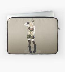 Clockworkkat - Rin Steam Girl  Laptop Sleeve