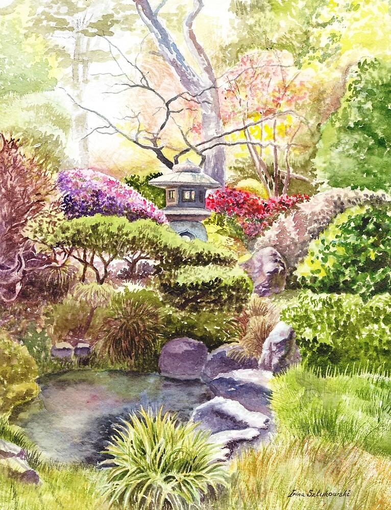 Serene Peaceful Landscape by Irina Sztukowski