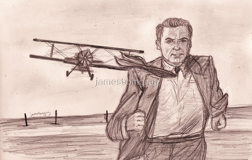 Cary Grant: North by Northwest by jamestomgray