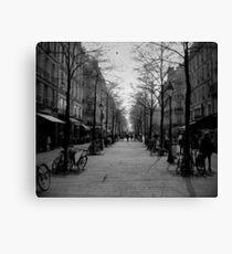 Rue Canvas Print