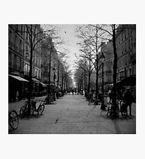 Rue Photographic Print